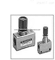 SMC AS系列速度控制阀结构原理