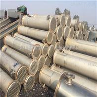 10平方-1000平方全国拆除回收闲置二手钛材列管冷凝器
