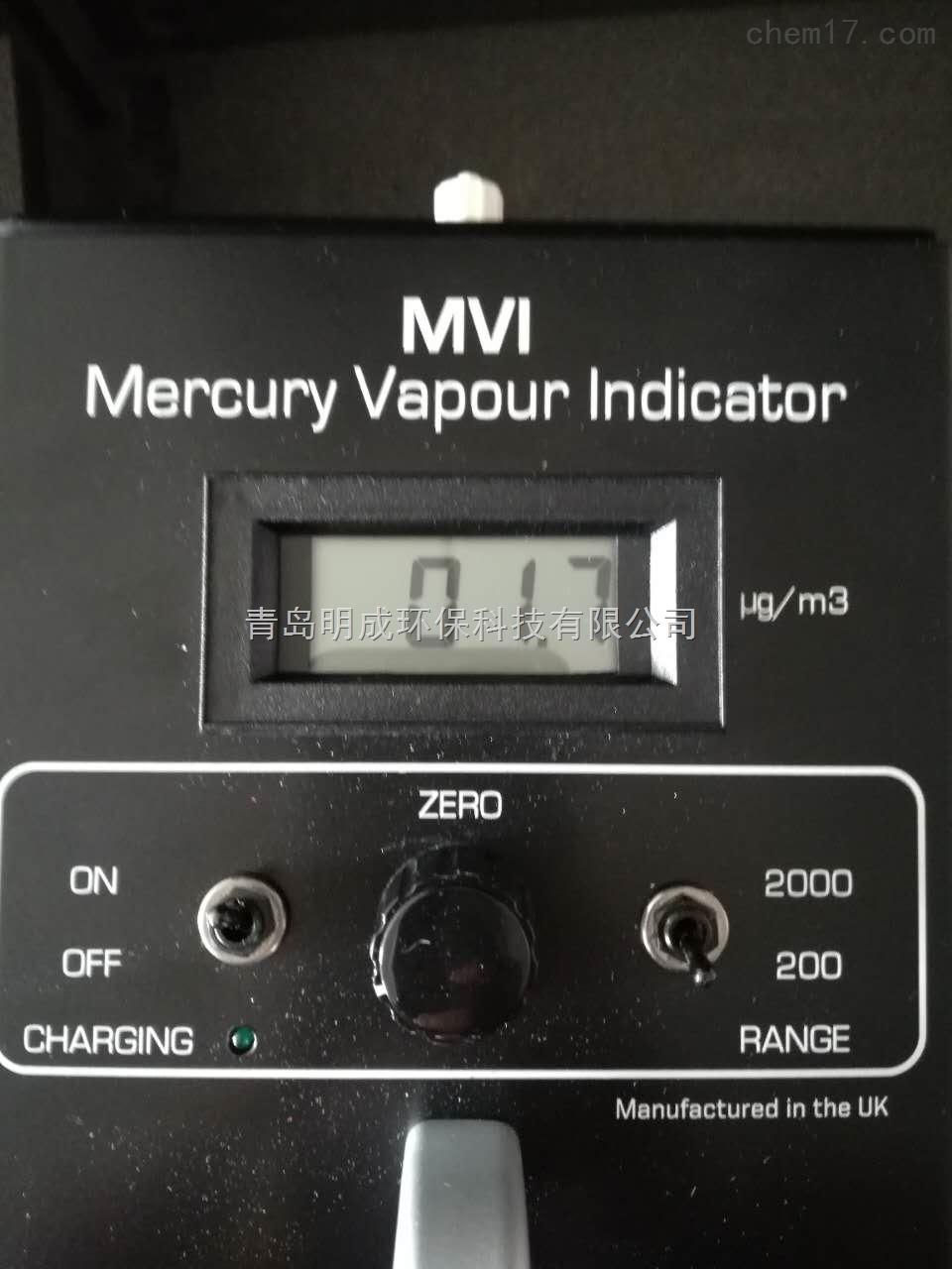 厂家供应MVI-DL便携式数据型汞蒸汽检测仪