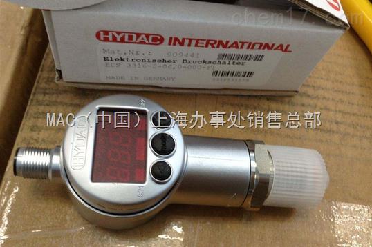 德国HYDAC传感器EDS3346-2-06.0-000-F1特价
