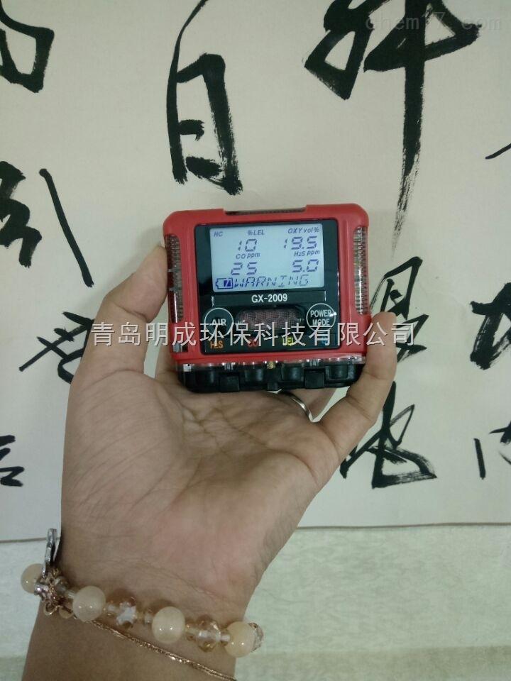 速检日本理研GX-2009大屏幕四种气体检测仪