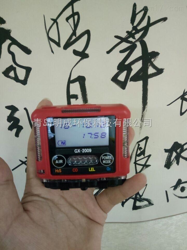 日本理研GX-2009袖珍型大屏幕多气体检测仪
