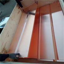 紫铜止水板  工程用1mm*540mm紫铜板压型