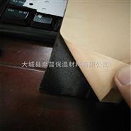 带背胶橡塑海绵板每平米价格