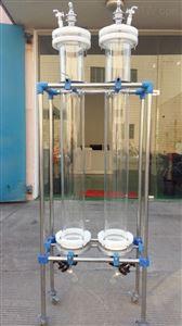 定制玻璃孔层析柱