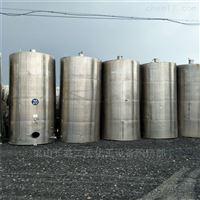 闲置出售二手10立方不锈钢储罐价格