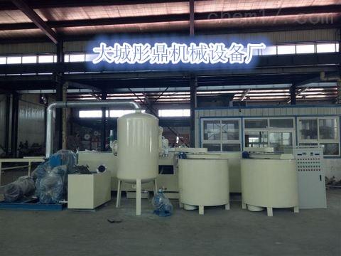 什么是改性硅质聚苯板设备