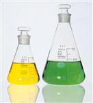 柴田科学HARIO进口SIBATA磨口三角烧瓶(带标准刻度)