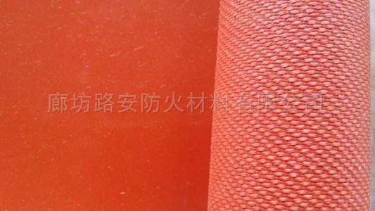 厂家生产高温硅胶防火布绝缘 性能稳定