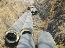 DN800预制保温管及管件供热管网结构特点