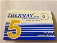 5格G5格G热敏试纸英国TMC温度纸188-210度变色纸