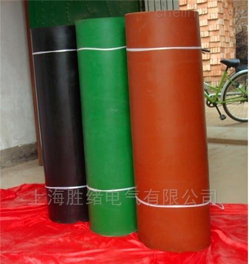 配电室绿色平板绝缘胶垫