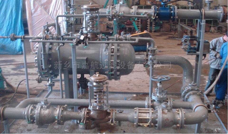 压差式旋流油水分离器操作