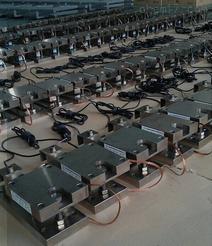 平台用称重控制模块/料罐模块安装调试