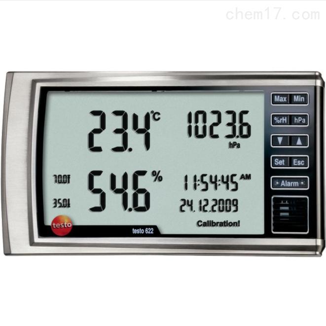 testo 622数字式温湿度大气压力表