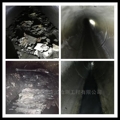 济南市城市污水管道清淤清洗检测施工技术