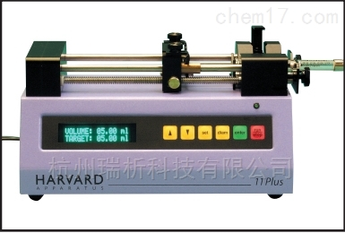 HARVARD APPARATUHARVARD APPARATUS 11Plus微量注射泵