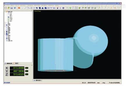 三坐标测量机M3D-M(手动)软件