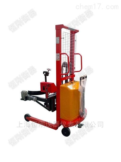 液壓10噸稱重倒桶秤,可移動液壓倒桶機