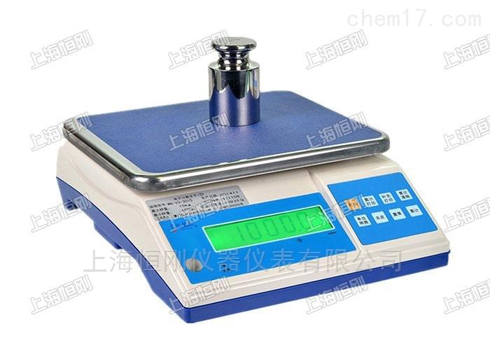 放在桌子上的工业用电子桌秤30公斤