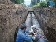 热力管道预制直埋式保温管安装