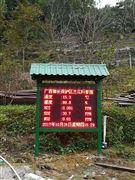 湖南负氧离子监测系统 PM2.5温湿度气象检测