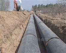 型号齐全热力管道工程预制直埋式保温管施工敷设