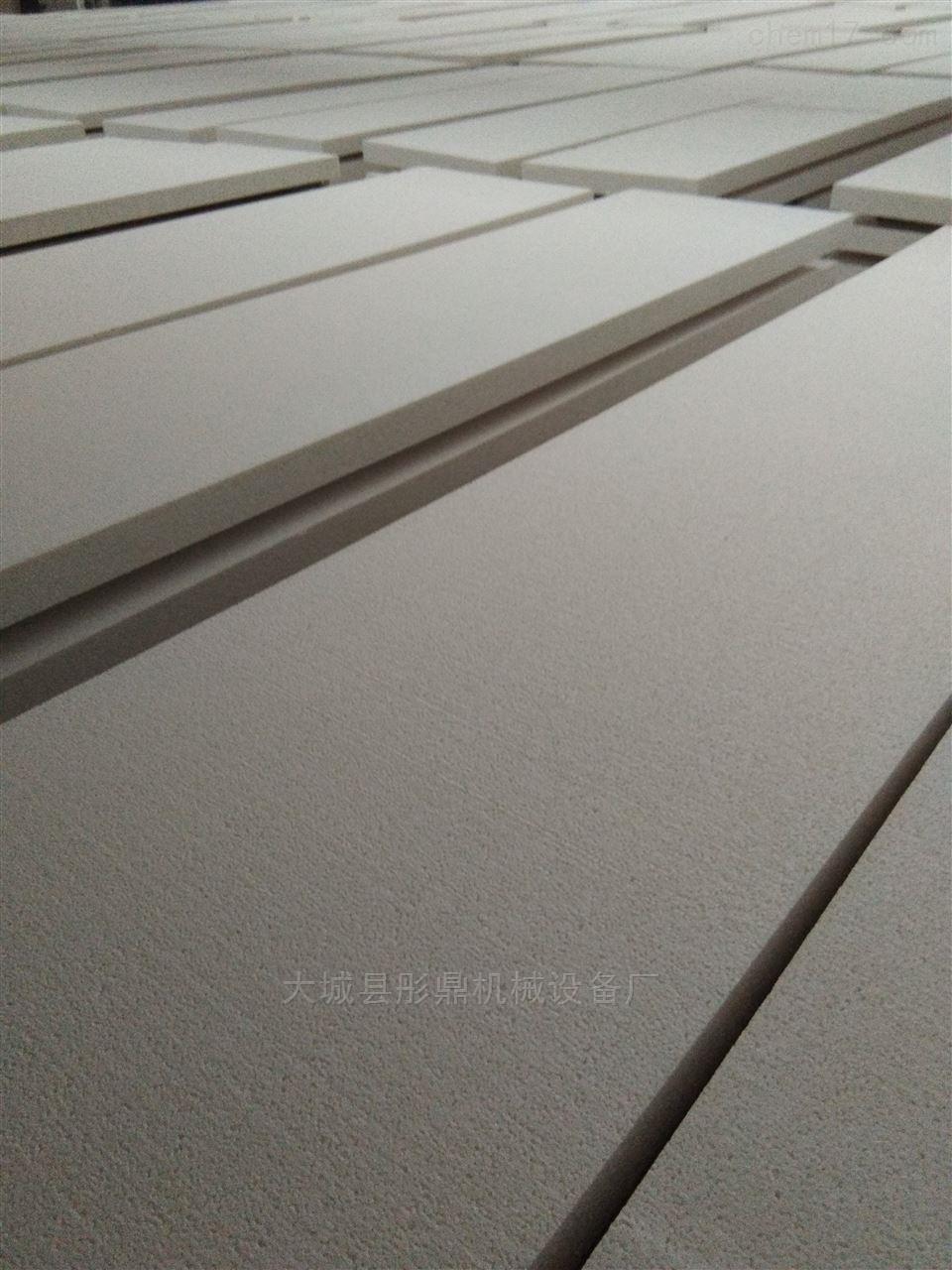无机渗透改性硅质聚合聚苯板A级防火保温板