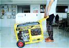 手推式7kw汽油發電機單缸機