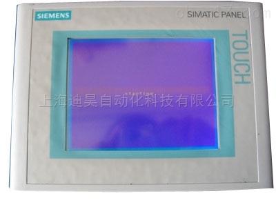 西门子MP277触摸屏显示字母白屏维修