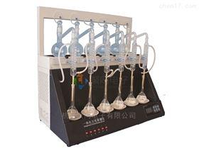 大連全自動蒸餾儀JTZL-6二氧化硫測定