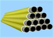 聚氨酯发泡保温管壳 聚乙烯架空高密度钢管