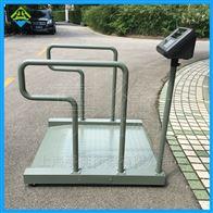 病人体重透析用电子秤,带小票打印的轮椅秤