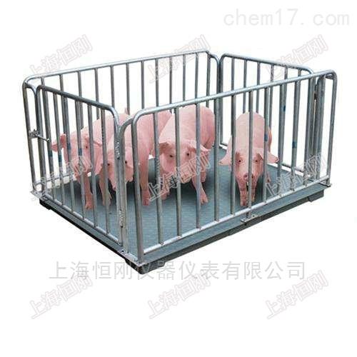 围栏活猪电子秤,动态防抖畜牧秤