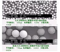 介孔聚苯乙烯微球 纳米颗粒2um  5mg/ml