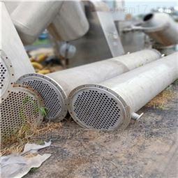 回收闲置二手不锈钢冷凝器 钛304 316
