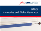 York EMC谐波和闪烁产生器HFG01