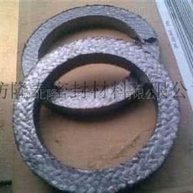 石墨盘根 石墨加钢丝盘根环填料价格