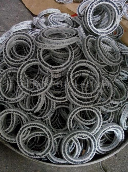 四氟盘根 黑四氟填料盘根填料环  非标定制