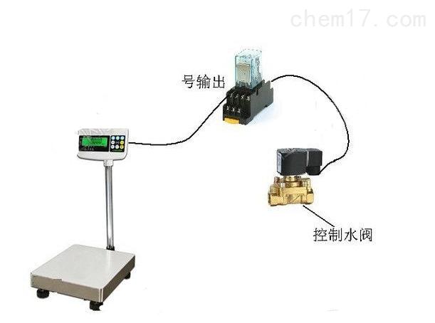 RS-232通讯接口电子秤,tcs-300kg电子台称