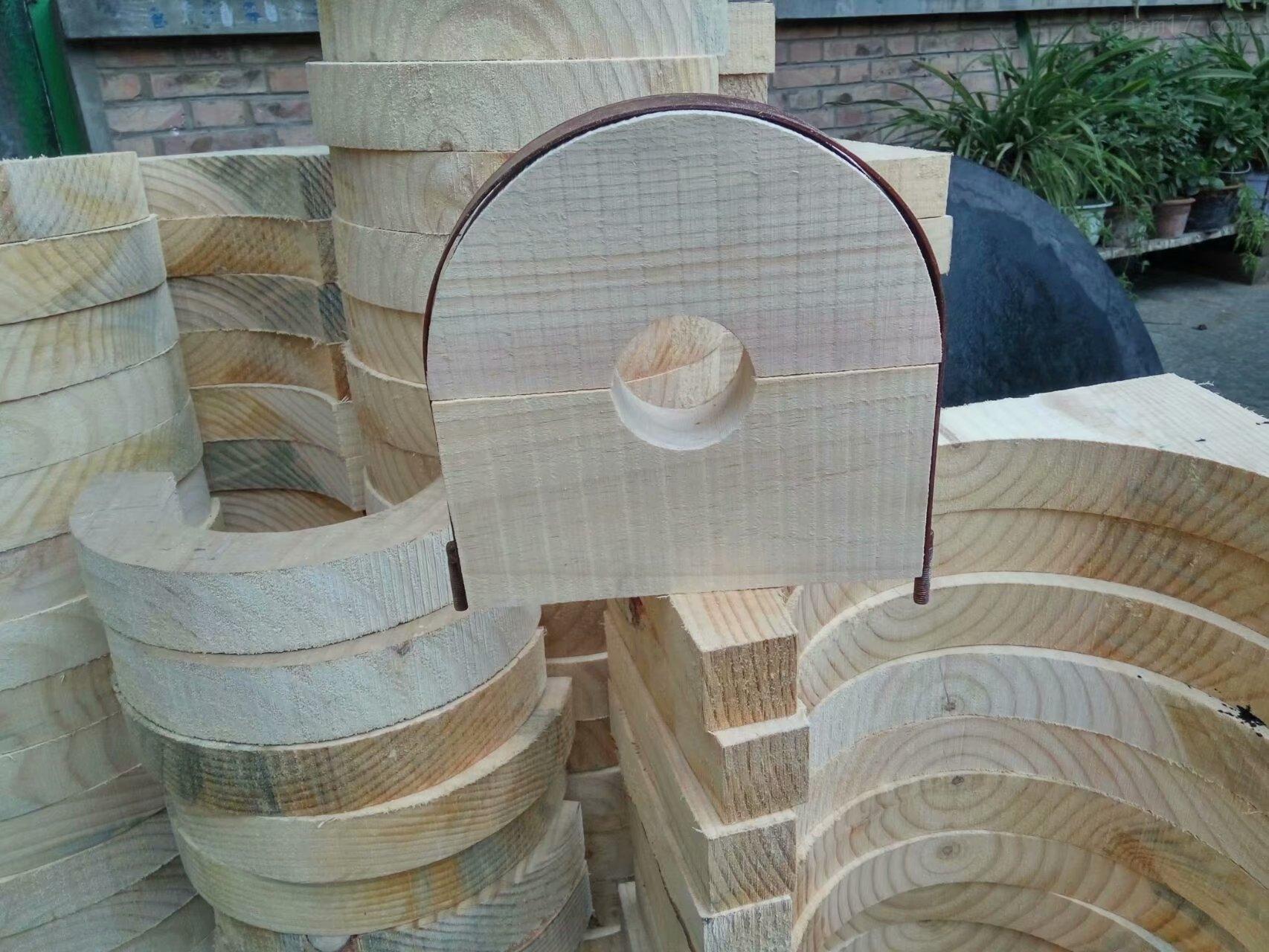 通化销售 隔冷红松木垫木 电力设施器材