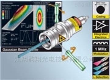 具有集成電子元件的激光二極管準直器