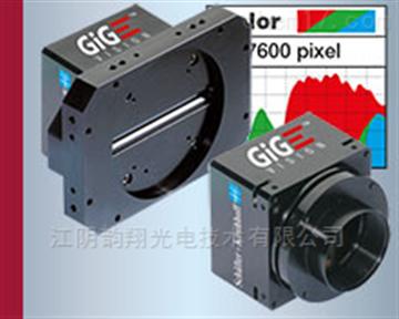 千兆以太網和GigE Vision接口線性掃描相機