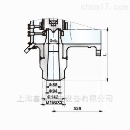 A62Y-P55-170V型气控碟形弹簧式安全阀