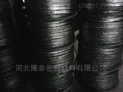 石墨加金属丝编织盘根 柔性石墨盘根厂家
