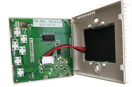 促销开利中央空调温控器控制面板风机盘管