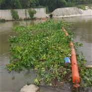 水上垃圾拦截拦污浮漂 浮筒式拦污排
