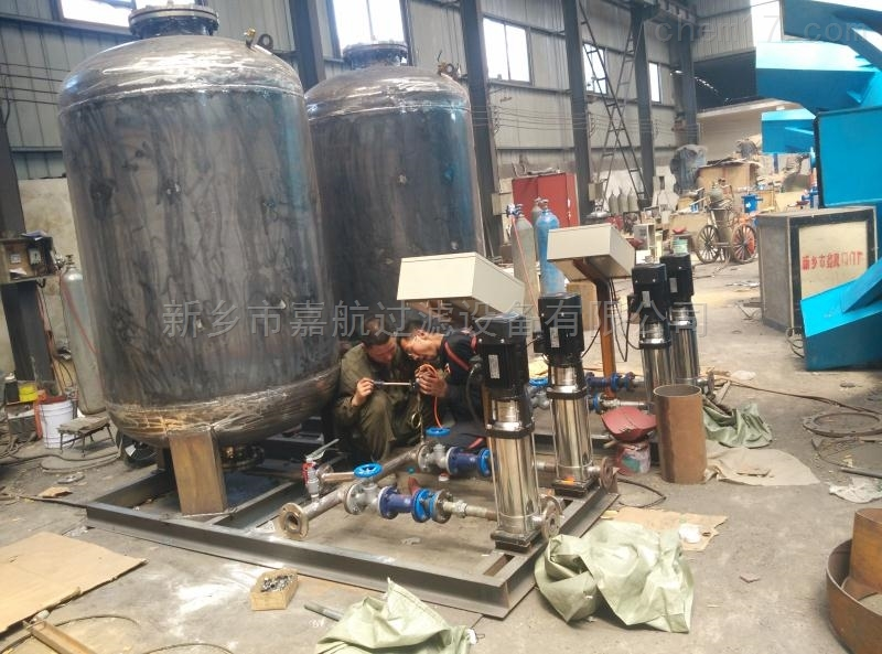 新式定压补水装置如何研发
