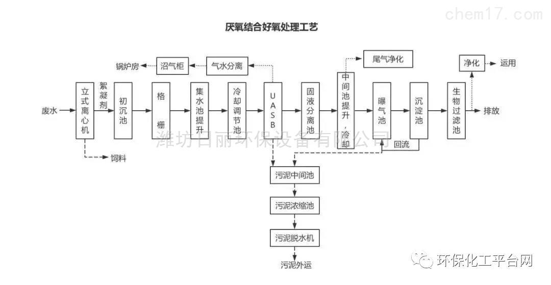 湖北省酒精污水处理设备RL-UASB厌氧反应器