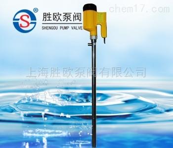 SB-9SS型無刷電機不銹鋼桶泵